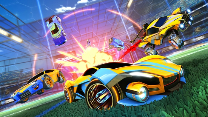 Rocket League Review Featured Image